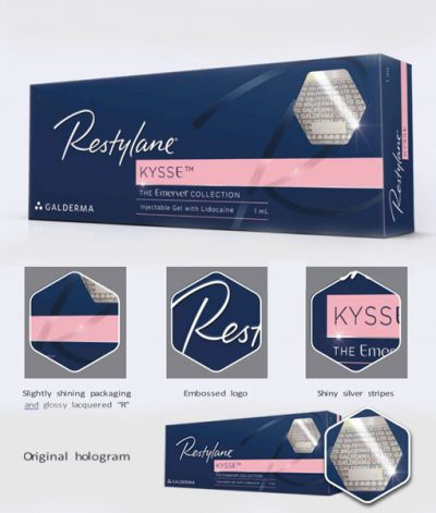 New Restylane Packaging with Genuine Hologram Sticker
